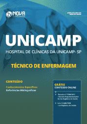 Apostila Unicamp - SP 2019 - Técnico de Enfermagem