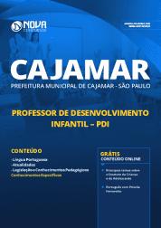 Download Apostila Prefeitura de Cajamar - SP 2019 - Professor de Desenvolvimento Infantil (PDI)