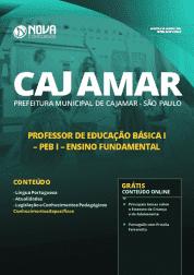 Download Apostila Prefeitura de Cajamar - SP 2019 - Professor de Educação Básica I (PEB I) Ensino Fundamental