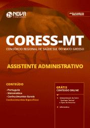 Apostila CORESS-MT 2019 - Assistente Administrativo