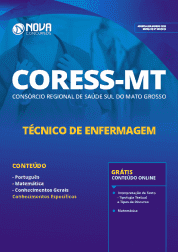 Download Apostila CORESS-MT 2019 - Técnico de Enfermagem