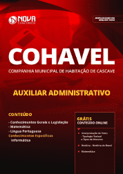 Apostila COHAVEL-PR 2019 - Auxiliar Administrativo