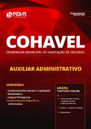 Download Apostila COHAVEL-PR 2019 - Auxiliar Administrativo
