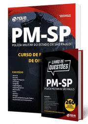 Combo PM-SP CFO 2019 - Curso de Formação de Oficiais (Apostila Impressa + Livro)