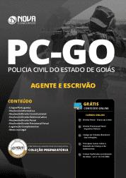 Download Apostila PC-GO 2019 - Agente de Polícia e Escrivão de Polícia