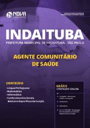 Download Apostila Prefeitura de Indaiatuba - SP 2019 - Agente Comunitário de Saúde