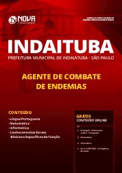 Apostila Prefeitura de Indaiatuba - SP 2019 - Agente de Combate de Endemias