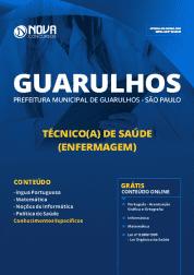 Download Apostila Prefeitura de Guarulhos - SP 2019 - Técnico(a) de Saúde (Enfermagem)