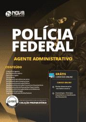 Download Apostila Agente Administrativo da Polícia Federal (PF) 2019