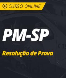 PM-SP - Resolução de Provas