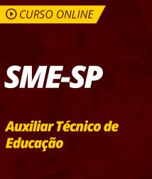 Matemática para SME-SP - Auxiliar Técnico de Educação