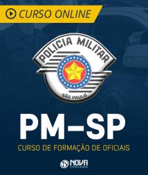 Noções de Administração Pública para PM-SP - Curso de Formação de Oficiais (CFO)