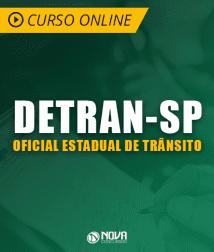 Legislação de Trânsito para Detran SP - Oficial Estadual de Trânsito