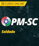 Pacote Completo PM-SC - Soldado