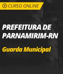 Português para Prefeitura de Parnamirim - RN - Guarda Municipal