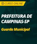 Pacote Completo Guarda Municipal de Campinas - SP