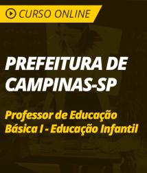 Matemática para Prefeitura de Campinas - SP - Professor de Educação Básica I - Educação Infantil