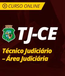 Pacote Completo TJ-CE - Técnico Judiciário - Área Judiciária