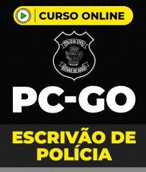 Curso Escrivão de Polícia PC-GO