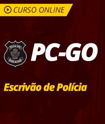 Noções de Direito Processual Penal para PC-GO - Escrivão de Polícia