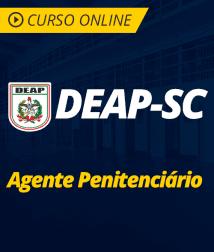 Português para DEAP-SC - Agente Penitenciário