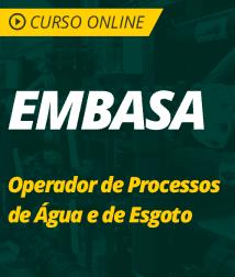 Pacote Completo EMBASA - Operador de Processos de Água e de Esgoto