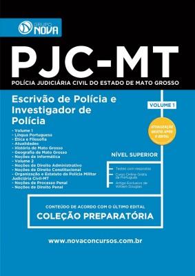Apostila PJC - MT - Escrivão de Polícia e Investigador de Polícia