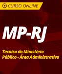 Pacote Completo MP-RJ - Técnico do Ministério Público - Área Administrativa