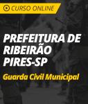 Pacote Completo Prefeitura de Ribeirão Pires - SP - Guarda Municipal