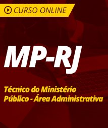Direito Administrativo para MP-RJ - Técnico do Ministério Público - Área Administrativa