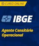Pacote Completo IBGE - Agente Censitário Operacional