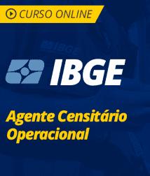 Português para IBGE - Agente Censitário Operacional