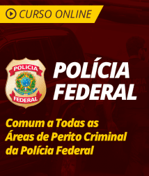 Noções de Direito Processual Penal Comum a Todas as Áreas de Perito Criminal da Polícia Federal