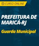 Pacote Completo Prefeitura de Maricá - RJ - Guarda Municipal