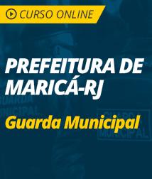Raciocínio Lógico para Prefeitura de Maricá - RJ - Guarda Municipal