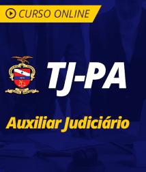 Português para TJ-PA - Auxiliar Judiciário