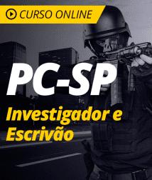 Curso Completo PC-SP - Escrivão e Investigador de Polícia Civil