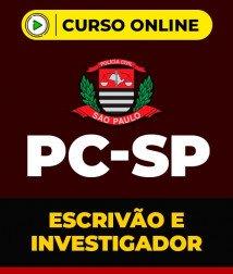 Curso Policia Civil SP - Escrivão e Investigador de Polícia Civil