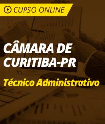 Português para Câmara de Curitiba - PR - Técnico Administrativo