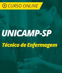 Português para UNICAMP-SP - Técnico de Enfermagem