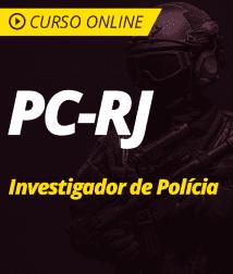 Pacote Completo PC-RJ - Investigador de Polícia