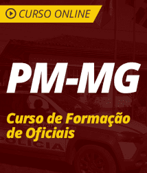 Direito Processual Penal para PM-MG - Curso de Formação de Oficiais