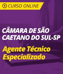Matemática para Câmara de São Caetano do Sul - Agente Técnico Especializado