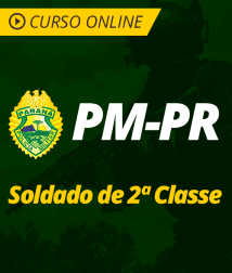Português para PM-PR - Soldado de 2ª Classe