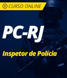 Conhecimentos de Direito Processual Penal para PC-RJ - Inspetor de Polícia