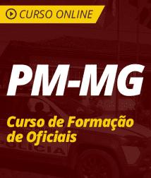 Direito Constitucional para PM-MG - Curso de Formação de Oficiais
