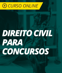 Curso de Direito Civil para Concursos