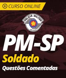 Questões Comentadas de Português para PM-SP - Soldado