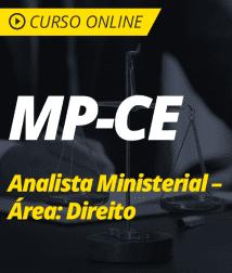 Direito Processual Penal para MP-CE - Analista Ministerial – Área: Direito