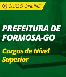 Português para os Cargos de Nível Superior da Prefeitura de Formosa - GO